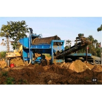 Buy cheap small scale gold mining plant/alluvial gold recycling machine/ gold washing plant for sale from wholesalers