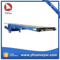 Buy cheap Telescopic Belt Conveyors / Extendable Conveyor for Loading and Uploading Cargos from wholesalers