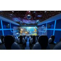 Entertainment 5d Mobile Cinema Motion Chairs With Snow , Bubble , Lightning Machine Manufactures
