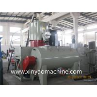 Buy cheap Horizontal Hot & Cold Plastic Mixing Machine PVC powder mixing unit from wholesalers