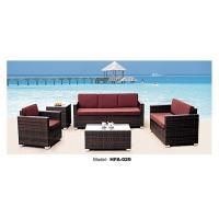 Buy cheap Comfortable outdoor poly rattan furniture sofa set from wholesalers