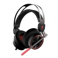 Buy cheap USB 7.1 Surround Sound Virtual Reality Headset , LED Light Around Ear Headphones For PC from wholesalers