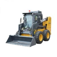 Buy cheap Yellow strong power  14km/h  XCMG official XC740K Operation Mode skid steer loader for sale from wholesalers