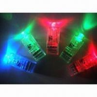 Buy cheap LED Flash Finger/Novelty Light with Mini Color LED Torch, Used as Gift and Toy from wholesalers