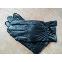 Buy cheap Man sheepskin gloves, black sheep in the yard stick single button style from wholesalers