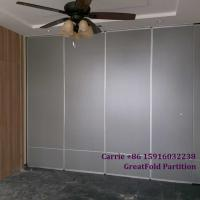 Buy cheap 2019 new operable folding glass pvc office partition wall for office from wholesalers