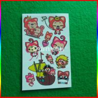 Buy cheap temporary tattoo stickers, Ahri kids cartoon temporary tattoo stickers from wholesalers