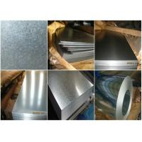 Buy cheap Commercial Galvanized Steel Strip , High Strength Steel Plate Heat Resistance from wholesalers