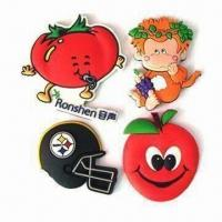 Wholesale Promotion Cartoon Soft PVC Fridge Magnets, OEM Orders Welcomed, Eco-friendly Material, 2D/3D Effect from china suppliers