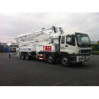 8x4 SSAB Steel ISUZU 47m Truck Mounted Concrete Pump / Delivery Equipment 390HP