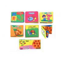 Buy cheap Bedtime Toy Lenticular Printing Services Baby EVA Waterproof Bath Book product