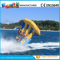 Wholesale Digital Printing Inflatable Boat Toys Flying Fish Boat One Years Warranty from china suppliers