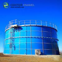 Buy cheap Industrial Glass Lined Steel Water Storage Tanks  For Sewage Treatment Plant from wholesalers