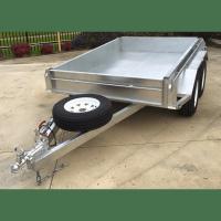 Buy cheap 8x5 Hot Dipped Galvanized Tandem Trailer 2000KG from wholesalers
