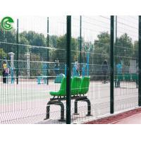 Buy cheap Playground / Sports field Green color Ornamental Welded Wire Mesh Fence Edging(guangzhou) from wholesalers