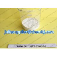 Buy cheap 99% White Crystalline Raw Powder Procaine HCl ( Procaine Hydrochloride ) CAS 51 product