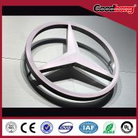 Buy cheap thermoforming arcylic LED module led car logo / led advertisement outdoor car emblem from wholesalers