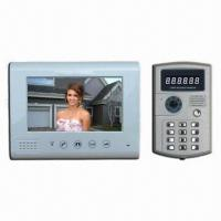 Buy cheap Wired Video Door Phone with 7-inch TFT LCD Screen, Night Mode and Rain-/Vandal-resistant from wholesalers