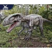 Wholesale Theme Park Robotic Life Size Realistic Dinosaur Models With 12 Months Warranty from china suppliers