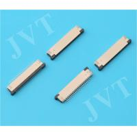 Buy cheap 0.3mm pitch FPC connector ,lower  contact ,Height of 1.0mm, ZIF, SMT Type from wholesalers