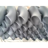 Buy cheap Round 90 Degree Butt Welding Galvanized  Steel Tube Elbows , DIN EN 10253 from wholesalers