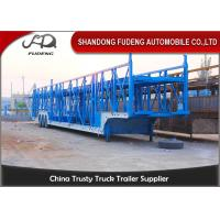 Buy cheap Steel Chassis Automatic Car Carrier Trailer Double Axles Double Floor from wholesalers