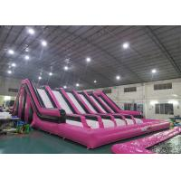 Buy cheap Huge Insane Inflatable Obstacle Challenges For Adult With Digital Printing Logo from wholesalers