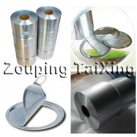 Buy cheap 8011  soft lacquered aluminium foil for peel off membrane ends from wholesalers