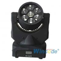 Buy cheap Smart Control LED Moving Head Light 7*10W 0-100% Linear Dimmer With 16 Bit from wholesalers