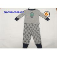 Wholesale Robot Screen Print Kids Clothing Sets , Color Customized Baby Boy Clothing Sets from china suppliers