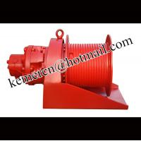 Buy cheap supplier of high quality hydraulic winch (hydraulic capstan) with pull force 1-100 ton from wholesalers