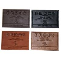 Buy cheap PU Embossed Leather Patches Nickel Free Plating custom embossed labels from wholesalers