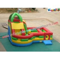 Buy cheap Waterproof Inflatable Bouncer Slide PVC Tarpaulin For Kids With Strong Handles product
