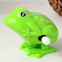 Buy cheap 5 Cm Long Classic Wind Up Toys / Green Frog Wind Up Toy For Preschool Education product