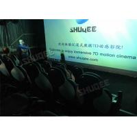 Wholesale Ergonomic 5D Theater System Motion Durable Seats In Commercial Center from china suppliers