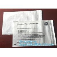 Buy cheap packing list bubble mailer envelopes,customized packing list packaging mailing bags for packing clothes, bagease, packs from wholesalers
