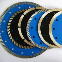 Buy cheap Diamond continuous rim blade for stone slab cutting ,ceramic,tile concrete cutting diamond blade. wet cutting blades from wholesalers