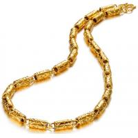China Drjobson Jewelry 18K Gold stainless steel necklace hot sales-N03 on sale