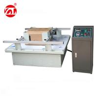 Wholesale Digital Type Packaging Testing Equipment / Carton Simulation Transportation Vibration Test Machine from china suppliers