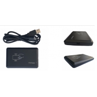 Buy cheap ISO1443A MIFAR S50 USB 13.56MHZ RFID ID Credit Card Reader writer from wholesalers
