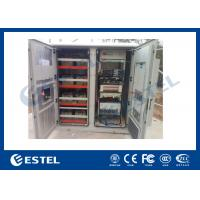 Buy cheap Reasonable Layout Assembled Base Station Cabinet Outdoor Rack Enclosure With Battery Compartment product