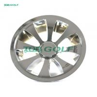 Buy cheap 10 Turbine Golf Cart Wheel Covers Hub Caps Plastic Material Easy To Install from wholesalers