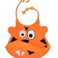 Buy cheap Cute Animal Baby Bibs Girl Boy Bib Washable Silicone lunch bib Fun Waterproof from wholesalers