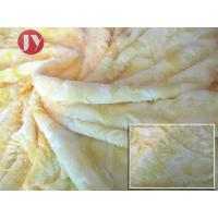 Buy cheap Knitted Polyester Soft Fluffy rose trico knitted plush Fabric , Plush Material Fabric Microfiber Home Textile from wholesalers