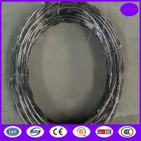Buy cheap CBT65 5kgs /coil stainless steel razor barbed wire from wholesalers