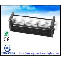 DC Elevator Cross Flow Fan 60mm X 120mm Refrigerator Cooling Fan with CE and ROHS metal frame and impeller Manufactures