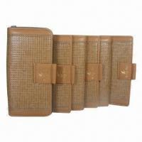 Wholesale Women's Wallets, Made of Leather, Available in Three Sizes, OEM and ODM Orders Welcomed from china suppliers