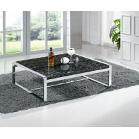 Buy cheap Contemporary Marble Coffee Table with Stainless Steel Base Center Table for Living Room from wholesalers