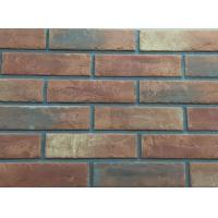 3D206 Acid Resistance Turned Color Interior Brick Wall Clay Material Manufactures