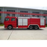 Wholesale Diesel Fuel Vacuum Tanker Fire Truck 6350mm Wheelbase With Rear Mounted Pump from china suppliers